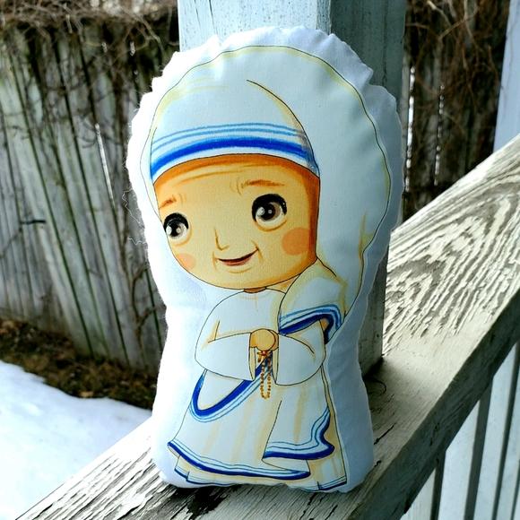 Mother Teresa Pillow Pal. New.